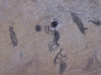 Pictographs In Cueva Numero Uno