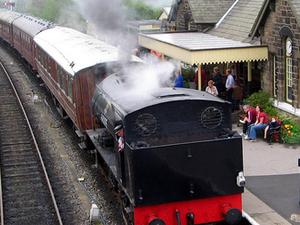 Embsay y Bolton Abbey Steam Railway