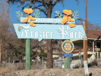 Entrance To Frazier Park