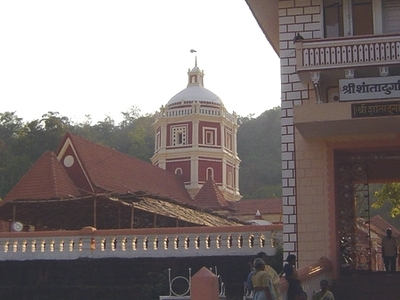 Entrance To  Shanta Durga  Temple