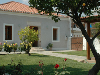 Swiss School House At Eretria