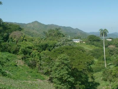 Escambray Near Hanabanilla Lake