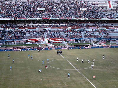 The Stadium During A River Plate Football Match