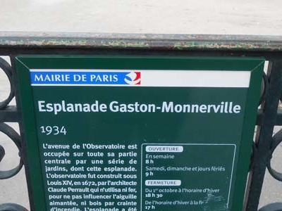 Espanade Gaston Monnerville Info