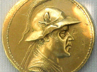Gold 20-Stater Of Eucratides I