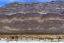 Cliffs In Eureka Valley
