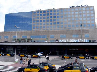 Barcelona Sants Railway Station