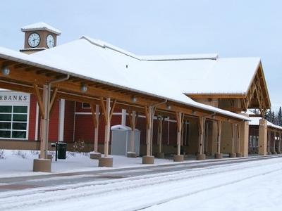 Fairbanks  A K Train Station