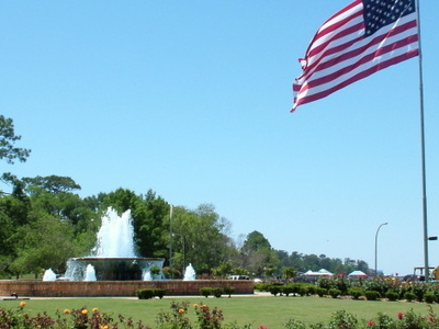 Fairhope  Municipal  Pier  Fountain