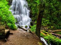 Fairy Spring waterfalls