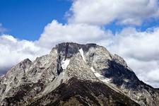 Falling Ice Glacier - Grand Tetons - Wyoming - USA