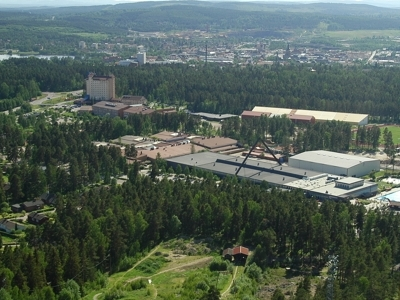 View From Ski-jump On Falun