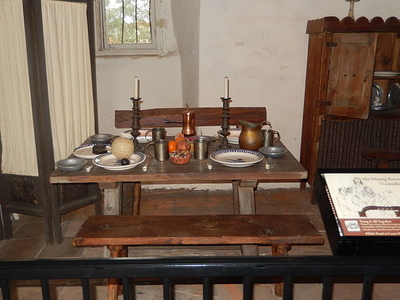 Father José Mut's Dining Room
