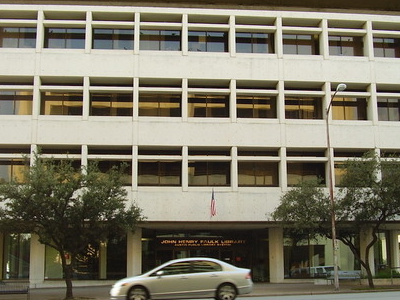 Faulk Library Austin