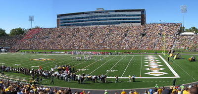 Interior View Of Faurot Field