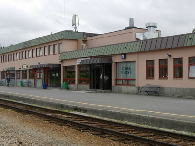 Railway Station In Fauske
