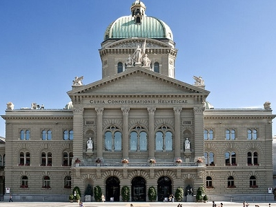 Federal Palace Of Switzerland In Berne