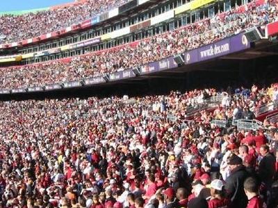 Redskins Fans At FedEx Field