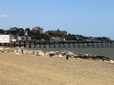 Felixstowe Beach  Suffolk  England