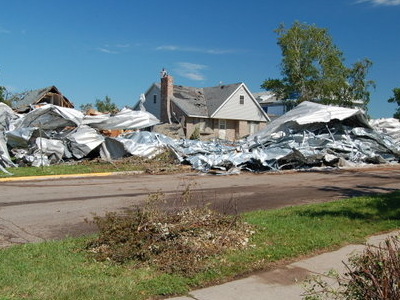 Tornado Damage And Debris