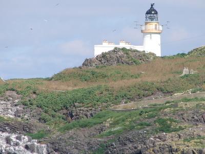 Fidra Island Lighthouse