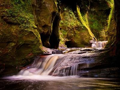 Finnich Glen Gorge