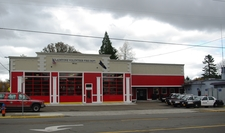 Fire And Police Station In Downtown