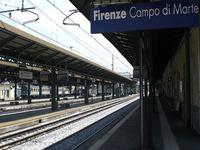 Florencia Campo di Marte estación de tren