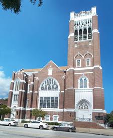 First Methodist Church Of St. Petersburg Facade
