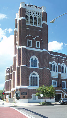 First Methodist Church Of St. Petersburg Tower View