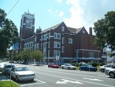 First Methodist Church Of St. Petersburg View Across Street