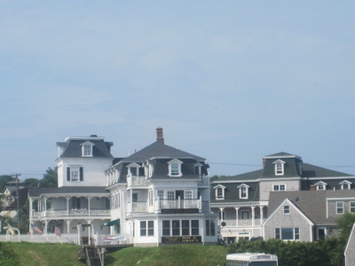 First Southside View Of Tourists At  Block  Island