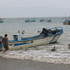 Fisherman Leaving Puerto Lopez