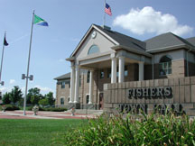 Fishers In Town Hall