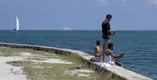 Fishing At Key Biscayne FL