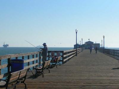 Fishing At Seal Beach