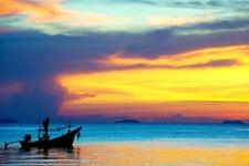 Fishing Boat At Koh Samui