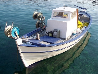 Fishing Boat In Assos - Greece