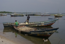 Fishing Boats @ Lake Victoria In Tanzania