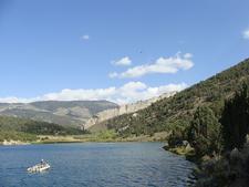 Fishing On Cave Lake