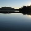 Fish Lake Oregon Sunset