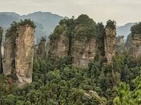 Wulingyuan paisajísticos