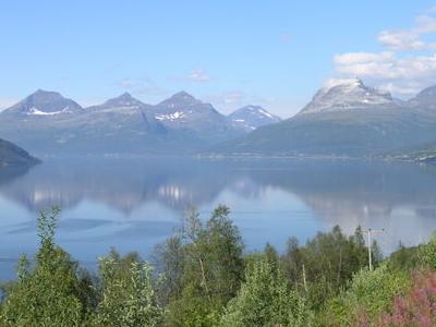 Balsfjord In Central Troms