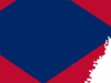 Flag  Map Of  Arkansas