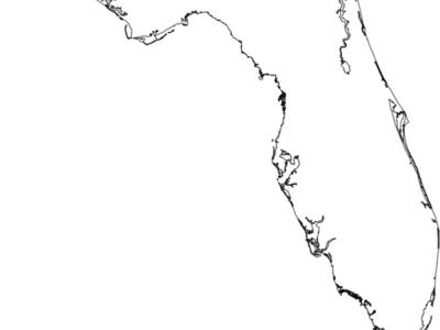 Flag  Map Of  Florida