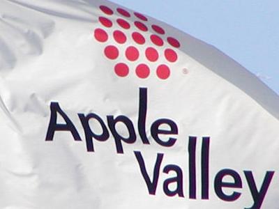 Flag Of Apple Valley Minnesota