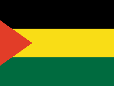 Flag Of Benishangul Gumuz Region