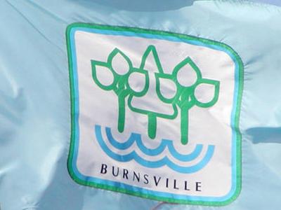 Flag Of Burnsville Minnesota