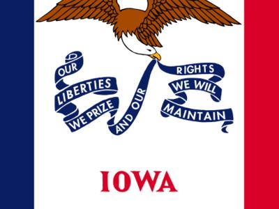 Flag Of  Iowa