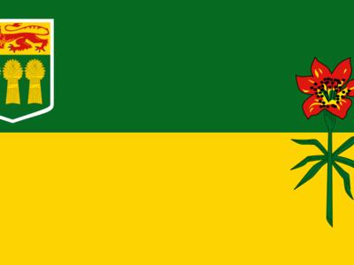Flag Of Saskachewan
